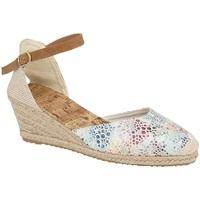 kengät Naiset Sandaalit ja avokkaat Cipriata  White/Multicoloured