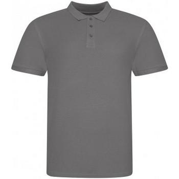 vaatteet Miehet Lyhythihainen poolopaita Awdis JP100 Charcoal Grey