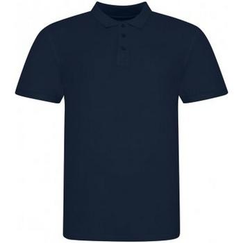 vaatteet Miehet Lyhythihainen poolopaita Awdis JP100 Oxford Navy