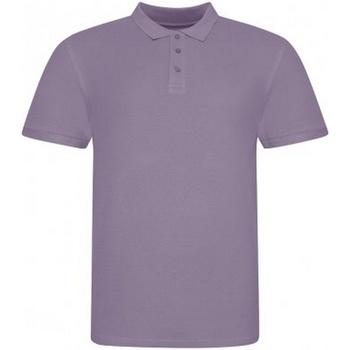 vaatteet Miehet Lyhythihainen poolopaita Awdis JP100 Purple