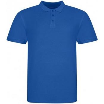 vaatteet Miehet Lyhythihainen poolopaita Awdis JP100 Royal Blue