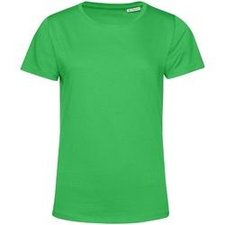 vaatteet Naiset Lyhythihainen t-paita B&c TW02B Apple Green