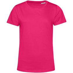 vaatteet Naiset Lyhythihainen t-paita B&c TW02B Magenta