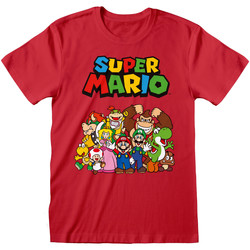 vaatteet Lyhythihainen t-paita Super Mario  Red