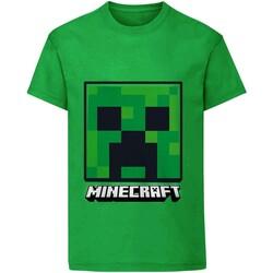 vaatteet Lapset Lyhythihainen t-paita Minecraft  Green