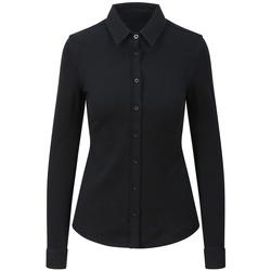vaatteet Naiset Paitapusero / Kauluspaita Awdis SD047 Black