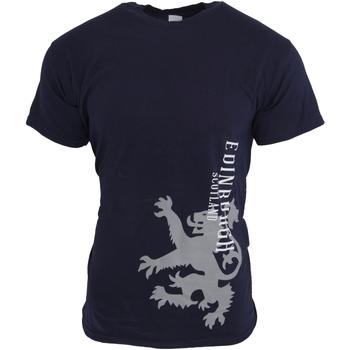 vaatteet Miehet Lyhythihainen t-paita Universal Textiles  NAVY