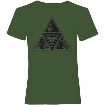 vaatteet T-paidat & Poolot Nintendo  Green