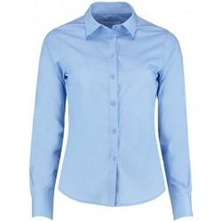 vaatteet Naiset Paitapusero / Kauluspaita Kustom Kit K242 Light Blue