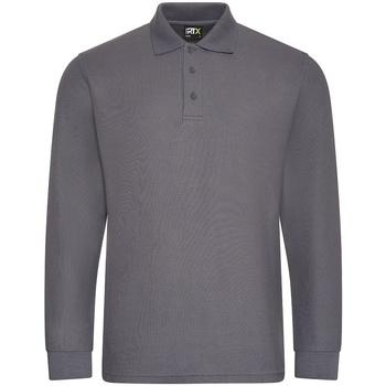 vaatteet Miehet Pitkähihainen poolopaita Pro Rtx  Solid Grey