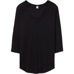 vaatteet Naiset T-paidat & Poolot Alternative Apparel AT008 Black