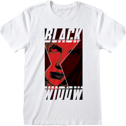 vaatteet T-paidat & Poolot Black Widow  White