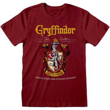 vaatteet T-paidat & Poolot Harry Potter  Maroon