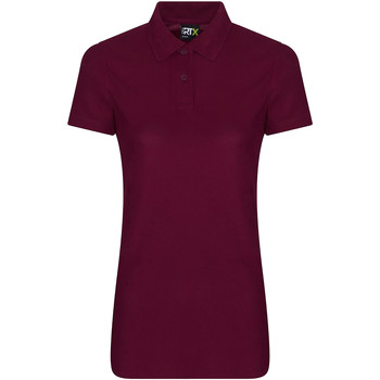 vaatteet Naiset Lyhythihainen poolopaita Pro Rtx RX105F Burgundy