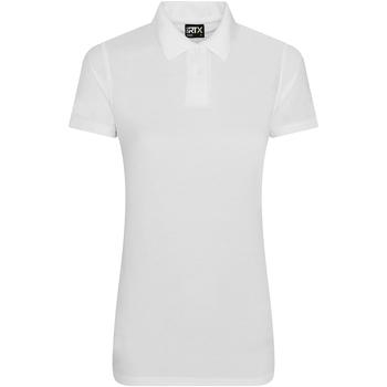 vaatteet Naiset Lyhythihainen poolopaita Pro Rtx RX105F White