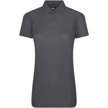 vaatteet Naiset Lyhythihainen poolopaita Pro Rtx RX105F Solid Grey