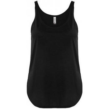 vaatteet Naiset Hihattomat paidat / Hihattomat t-paidat Next Level NX5033 Black