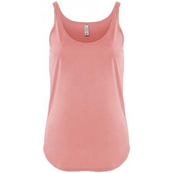 vaatteet Naiset Hihattomat paidat / Hihattomat t-paidat Next Level NX5033 Desert Pink
