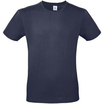 vaatteet Naiset Lyhythihainen t-paita B And C BA210 Navy Blue