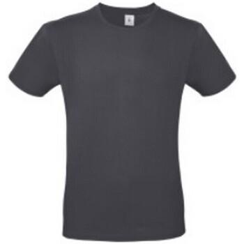 vaatteet Naiset Lyhythihainen t-paita B And C BA210 Dark Grey