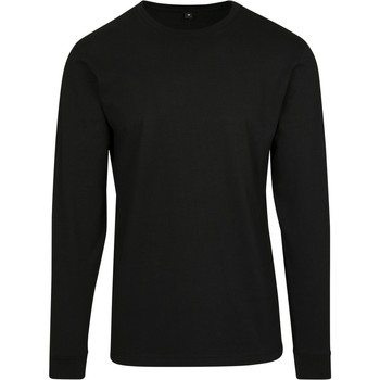 vaatteet Miehet Svetari Build Your Brand BY091 Black