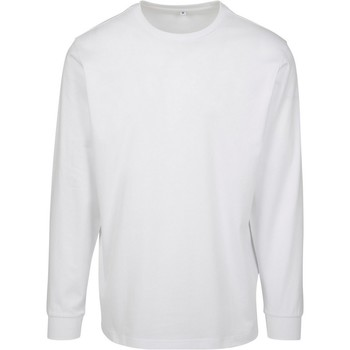 vaatteet Miehet Svetari Build Your Brand BY091 White