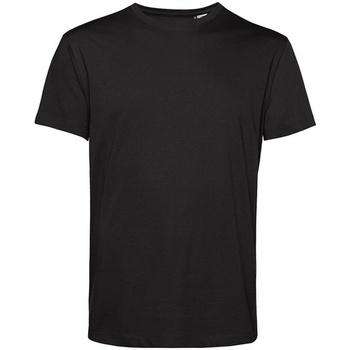 vaatteet Miehet Lyhythihainen t-paita B&c BA212 Black