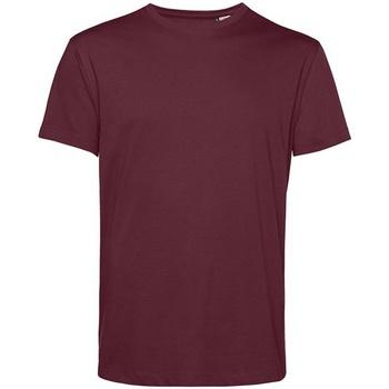 vaatteet Miehet Lyhythihainen t-paita B&c BA212 Burgundy