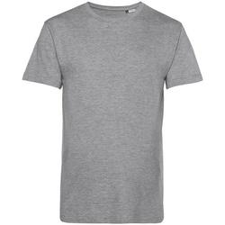 vaatteet Miehet Lyhythihainen t-paita B&c BA212 Grey Heather
