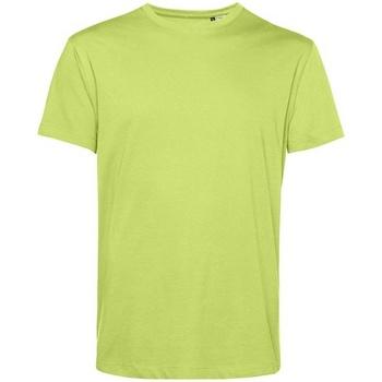 vaatteet Miehet Lyhythihainen t-paita B&c BA212 Lime Green
