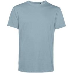 vaatteet Miehet Lyhythihainen t-paita B&c BA212 Misty Blue