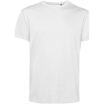 vaatteet Miehet Lyhythihainen t-paita B&c BA212 White