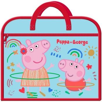 laukut Lapset Koululaukut Peppa Pig  Blue/Red