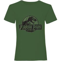 vaatteet Lyhythihainen t-paita Jurassic Park  Green