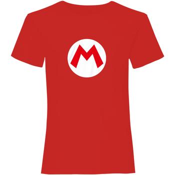 vaatteet Lyhythihainen t-paita Super Mario  Red/White