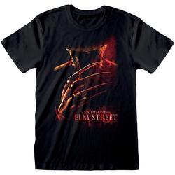 vaatteet Lyhythihainen t-paita Nightmare On Elm Street  Black