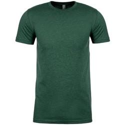 vaatteet Lyhythihainen t-paita Next Level NX6410 Heather Forest Green