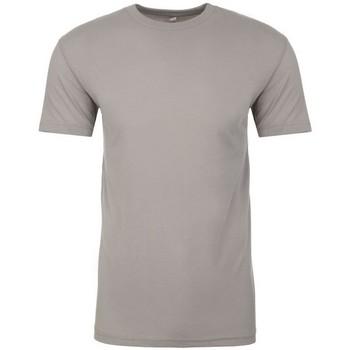 vaatteet Lyhythihainen t-paita Next Level NX6410 Light Grey