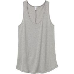 vaatteet Naiset Hihattomat paidat / Hihattomat t-paidat Alternative Apparel AT012 Smoke Grey
