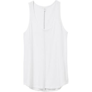 vaatteet Naiset Hihattomat paidat / Hihattomat t-paidat Alternative Apparel AT012 White