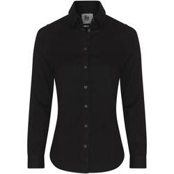 vaatteet Naiset Paitapusero / Kauluspaita Awdis SD045 Black