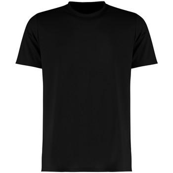 vaatteet Miehet Lyhythihainen t-paita Kustom Kit KK555 Black