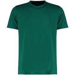 vaatteet Miehet Lyhythihainen t-paita Kustom Kit KK555 Bottle Green