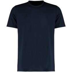 vaatteet Miehet Lyhythihainen t-paita Kustom Kit KK555 Navy