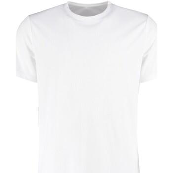 vaatteet Miehet Lyhythihainen t-paita Kustom Kit KK555 White