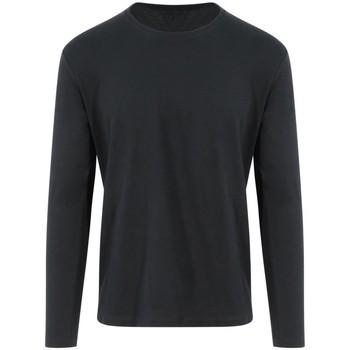 vaatteet T-paidat pitkillä hihoilla Awdis EA021 Jet Black