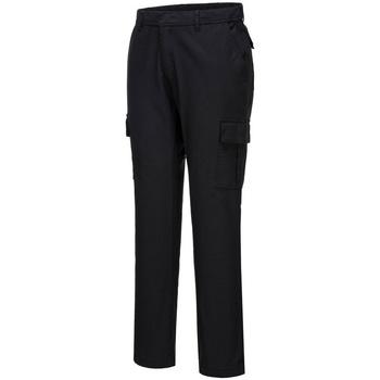 vaatteet Miehet Reisitaskuhousut Portwest PW363 Black