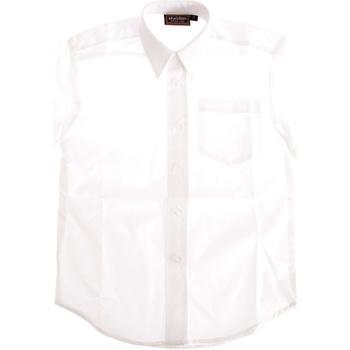 vaatteet Pojat T-paidat & Poolot Universal Textiles  White