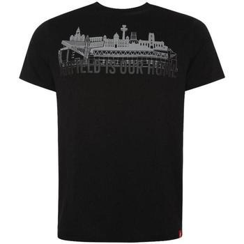 vaatteet Miehet Lyhythihainen t-paita Liverpool Fc  Black