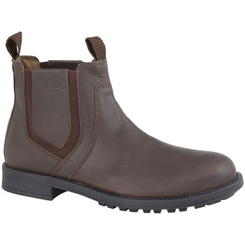 kengät Miehet Saappaat Roamers  Dark Brown